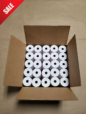 3'' x 165' 1-PLY BOND CASH REGISTER RECEIPT Paper of America (50 Rolls)