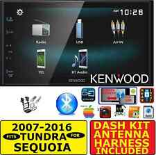 FOR 07-16 TUNDRA-SEQUOIA JVC-KENWOOD SCREEN MIRROR BLUETOOTH CAR RADIO STEREO