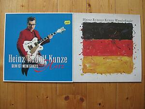 Heinz Rudolf Kunze - 2 LPs - SAMMLUNG- Klaus, Wunderkinder, Dein ist mein ganzes