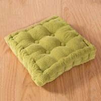 New Chair Pads Thicken Square Corduroy Seat Cushion Dining Students Study Room