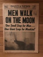 Daily News New York's Monday, July 21, 1969 Man Walked On The Moon