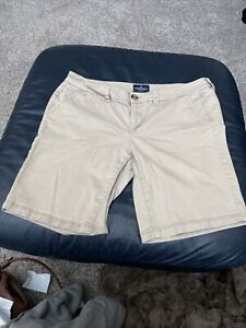 American Eagle - Womens - Bermuda Stretch Shorts - Size 10