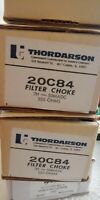 NOS NIB Thordarson 20C84 Filter Choke Transformer 7H 50mAdc 550 ohm