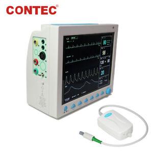 US Portable Vital Signs Patient Monitor Multiparameter ICU CCU +Capnograph ETCO2