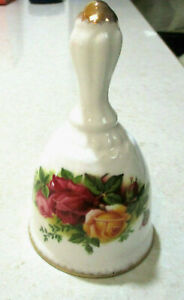"""ROYAL ALBERT    """"Old Country Roses""""  Dinner Bell  1st Quality    Excellent Cond"""