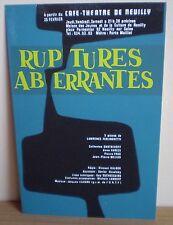 BEAT/ L. FERLINGHETTI: Ruptures/ musique Jacques LEJEUNE/ création Neuilly 1971