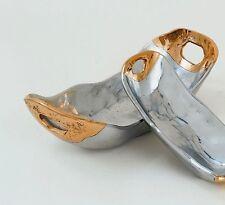 Medium Oval Bowl - by David Marshall, Sculptor