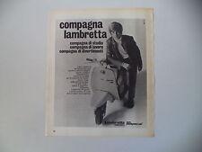 advertising Pubblicità 1970 LAMBRETTA 50 SPECIAL