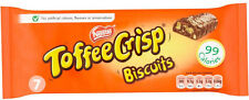 NESTLE TOFFEE CRISP BISCUITS 7 PACK