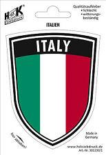 Aufkleber Auto Pkw Applikation 10 cm Flagge Italien Italy 301230-1