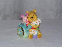 New in the Box Walt Disney Winnie The Pooh & Piglet Mini Miniature / Small Clock