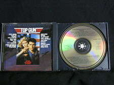 Top Gun. Film Soundtrack. Compact Disc. 1986. Made In Japan. Made In Austria.