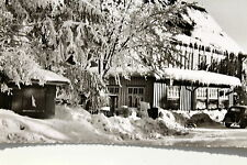 16729 Photo-AK Ski King Mug Resin Snow Accommodation Vehicle Hut um1950