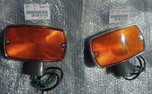 Genuine Toyota  Landcruiser  Indicator,Turn signal  SET.  FJ40-FJ45. 1971-1974