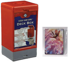 Customizable Deck Box with Deck Backer Multi-Pack - Red Fantasy Flight BRAND NEW