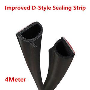 New Version Weatherstrip Car Door HOOD Trunk Moulding Seal Trim Strip 4m Rubber