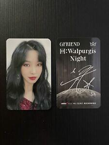 GFRIEND Yuju Walpurgis Night Richining Photocard Set Sowon Yerin Eunha SinB Umji