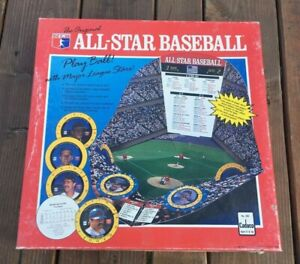 1989 Cadaco All star baseball board game complete never played  Ryan Ripken