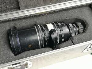 Taylor-Hobson Cine VAROTAL 25-250mm T4 VINTAGE CINEMA Lens in flight case!