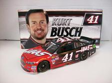NEW NASCAR 2017 KURT BUSCH # 41 HAAS CNC 1/24 DIECAST CAR