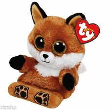 Ty Sly Fox Peek-A-Boo Phone Holder/Screen Cleaner Ty 3+, Boys & Girls