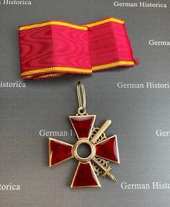 Orden der heiligen Anna 2. Klasse / Schwertern Russland Gold