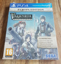 VALKYRIA CHRONICLES REMASTERED EUROPA EDITION Jeu PS4 Playstation 4 Neuf Blister