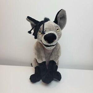 """Disney Store Plush shenzi Hyena The Lion King 15"""" Stuffed Animal"""