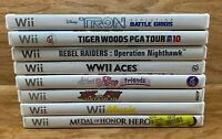 Lot Of 8 - Nintendo Wii Video Games *Tested And Work**