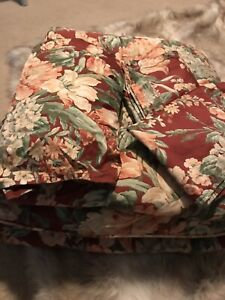 Ralph Lauren Vintage Desert Plains Comforter Set Bedskirt, 2 Standard Pillowcase