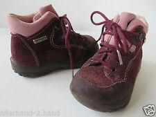 RICOSTA schöne SNEAKERS Gr. 23 lila Leder Mädchen Schuhe Boots Halbchuhe Stiefel