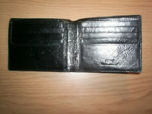Next Real Italian Leather Black Wallet - 447619 in presentation gift box