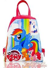 My Little My Little Pony Drawstring Backpack School Swim Library Bag 34 x 27cm