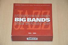 coffret CD Jazz : l'histoire des Big bands / 1914-1955