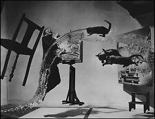 "Salvador Dali The Dali Atomicus Philippe Halsman Large 12.5""x16.5 Canvas Print"