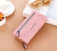 Women Zipper Purse Ladies Clutch Coin Wallet Phone Card Holder Handbag Fashion