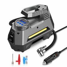 AUDEW 12V 150PSI Portable Car Air Compressor Digital AUTO Tire Inflator Pump LED