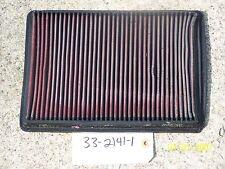 K&N AIR FILTER HI-PERFOMANCE REUSABLE WASHABLE PN: 33-2141-1
