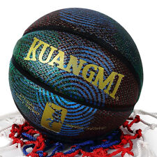 Kuangmi Cool Basketball Personality Street Ball Pu Leather Indoor/Outdoor Size 6