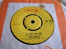 John Rowles,If I Only Had Time/Now Is The Hour (MCA,1968)