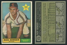 (46832) 1961 Topps 416 Dick Howser RC SP Athletics-EM