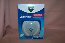 Vicks Waterless Tabletop Vaporizer NEW in Box Releases Soothing Menthol Vapors