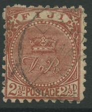 Fiji SG79 1891 21/2d Chocolate Fine Used