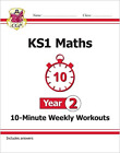 KS1 Maths 10-Minute Weekly Workouts - Year 2: perfect for catch-up and learning