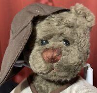 "Baseball Jointed Teddy Bear Slugger Ganz  Cottage Collectibles 15"" Plush Animal"