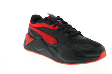 Puma RS-X3 Prism 37475801 Mens Black Mesh Lace Up Lifestyle Sneakers Shoes