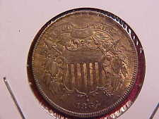1864 TWO CENT PIECE - UNC - SEE PICS! - (N5268)