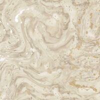 Minéraux Azurite Marbre Papier Peint Rouleaux Beige/Doré - Holden 90121