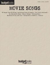 BUDGET BOOKS - Movie Songs PVG Book *NEW* Sheet Music Piano Vocal Guitar