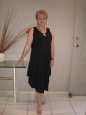 Stunning Long colourful Singlet Dress plus size 16-24 casual or Dressy Classic